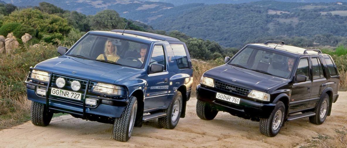 Trendsetter und Bestseller: Der Opel Frontera feiert 30. Geburtstag