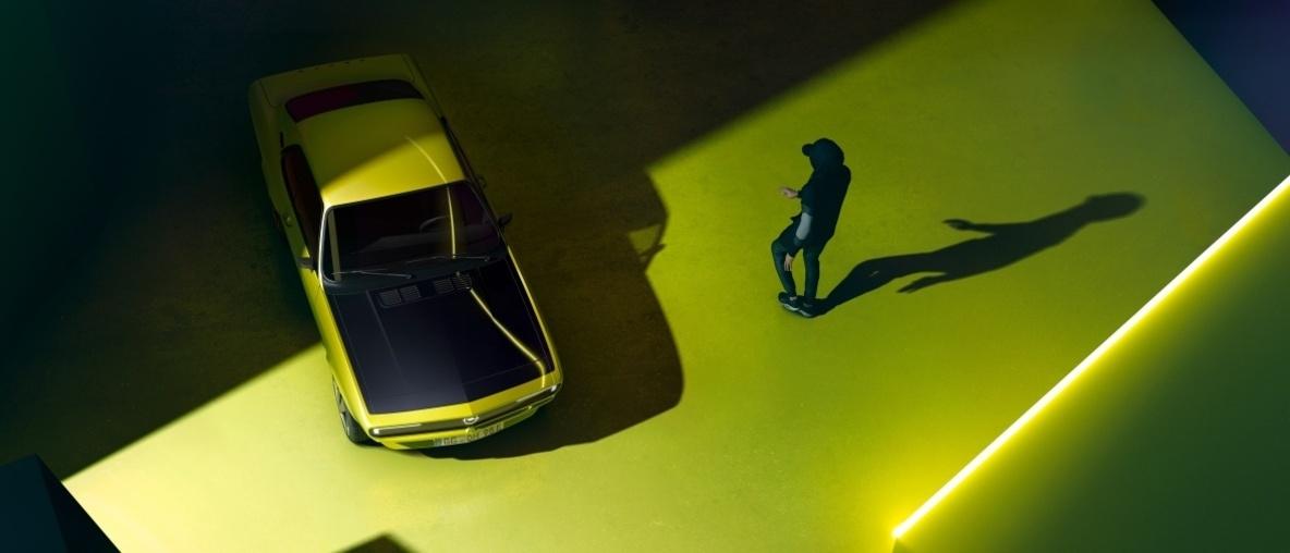Zurück in die Zukunft: Der Opel Manta wird elektrisch