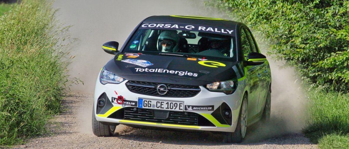 Der Opel Corsa-e Rally begeistert die Rallye-Szene