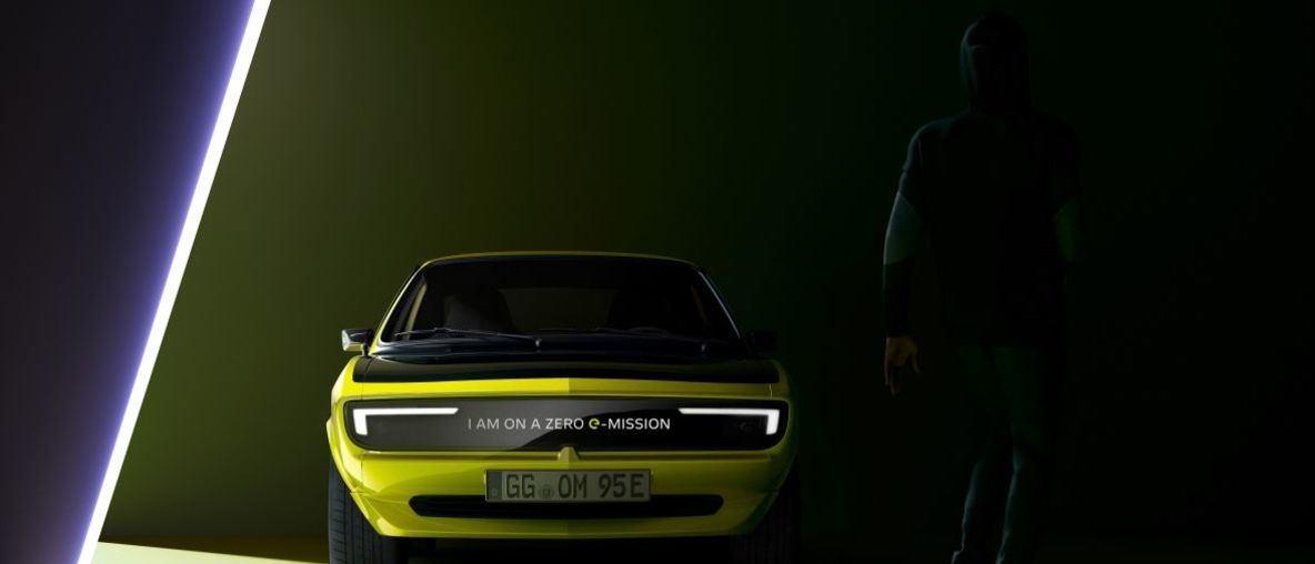 Neuer Opel Manta GSe ElektroMOD strahlt übers ganze Gesicht