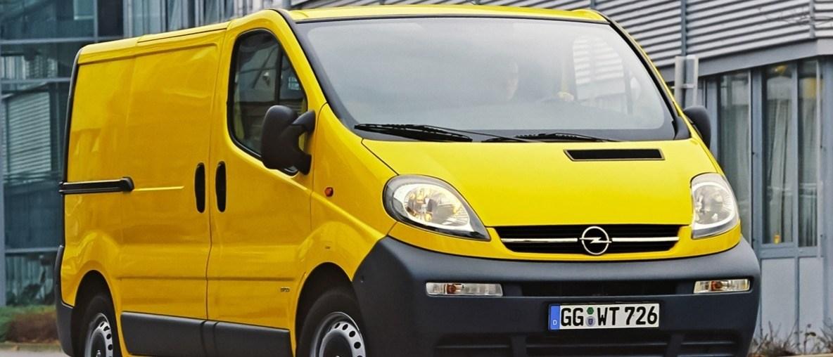 Stets zu Liefer-Diensten: Der Opel Vivaro feiert 20. Geburtstag