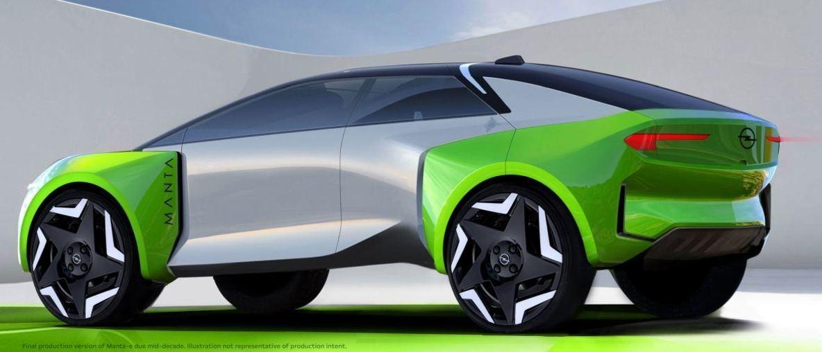 Opel wird komplett elektrisch, geht nach China und bringt den Manta-e