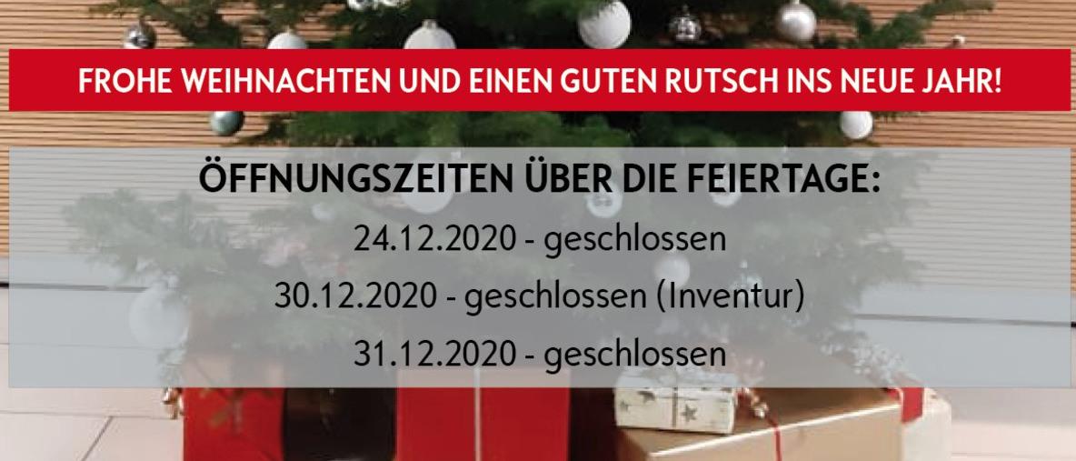 Öffnungszeiten über Feiertage Öllinger Amstetten Haag