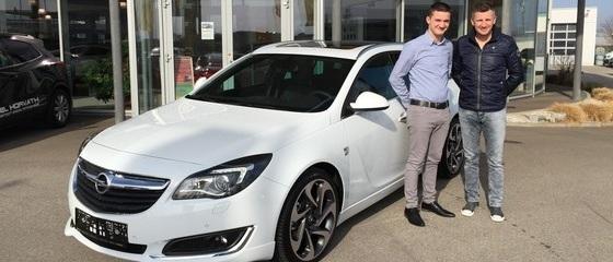 Opel Insignia - Übergabe Weninger