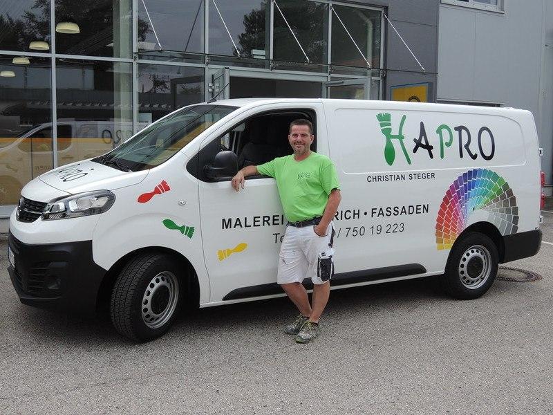 Hapro, Haidershofen, Malerei, Vivaro Cargo L