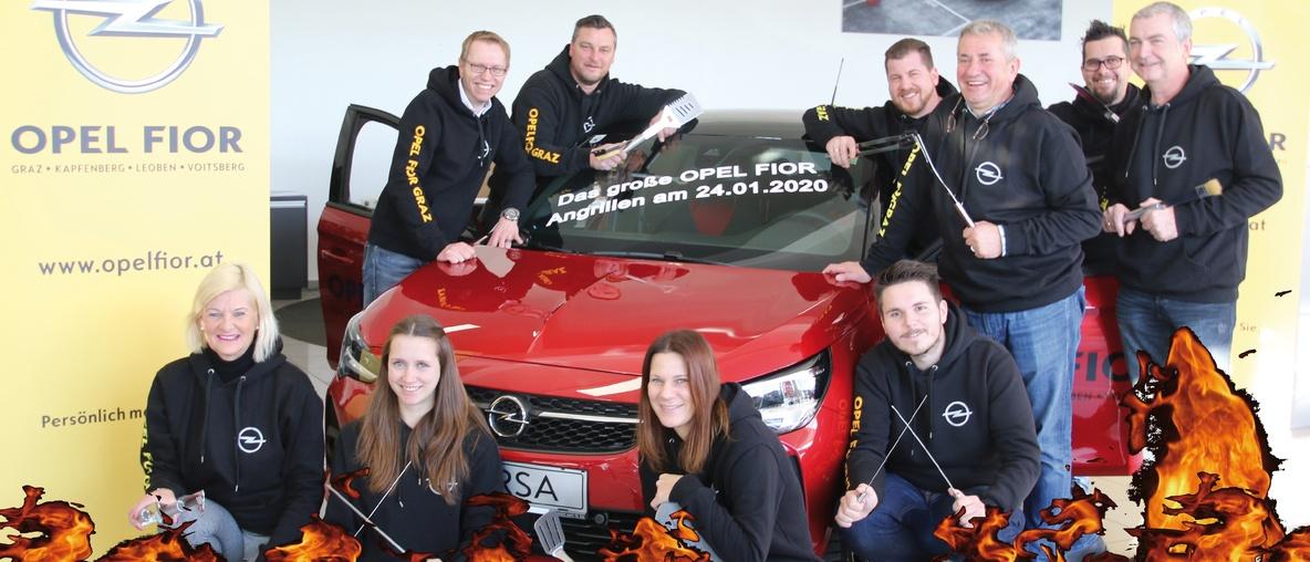 Das große Opel Fior Angrillen 2020