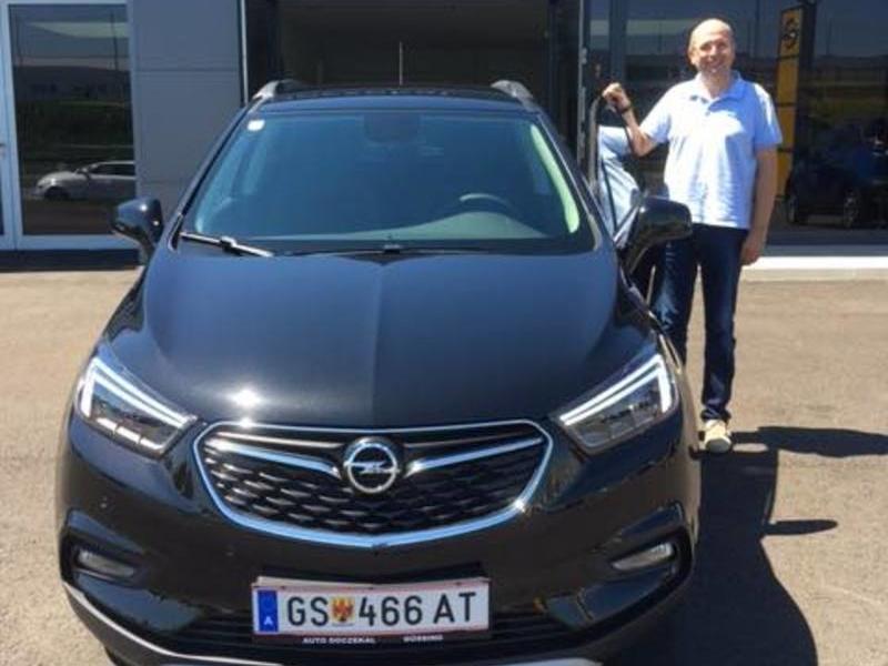 Auto Doczekal wünscht Herrn Grof viel Freude mit seinem neuen Opel Mokka X in der Ausstattungsvariante Innovation!!