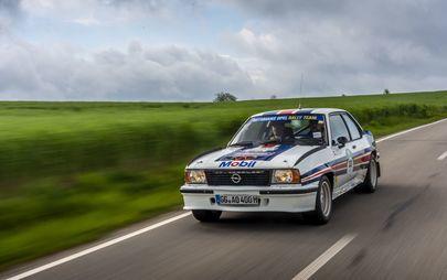 Legendäre Opel-Rallye-Stars auf der Bodensee-Klassik