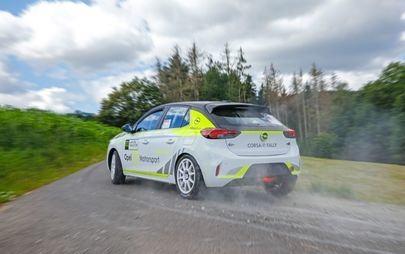 Opel Corsa-e Rally: Die Sicherheit steht an erster Stelle