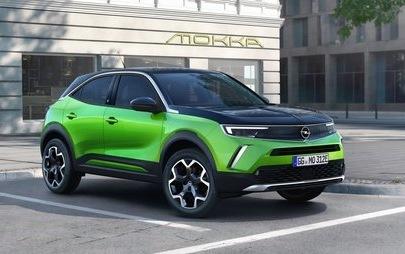 Legendäres Logo: Neuer Opel Mokka zeigt als erster den neuen Blitz