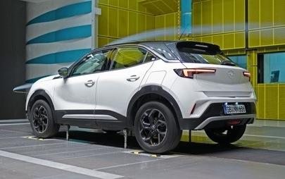 Neuer Opel Mokka: Erstklassige Aerodynamik für mehr Effizienz und weniger Emissionen