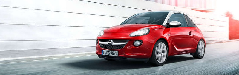 Opel Adam-Probefahrt buchen