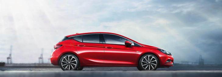 Opel Astra 5-türer elegant und innovativ bei Wiener in Eltendorff