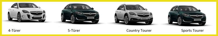 Opel Insignia Familie bei Riediger in Wien