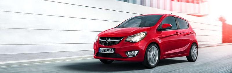 Opel Karl rot bei Riediger inWien jetzt Probefahrt